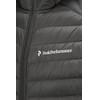 Peak Performance M's Frost Down Hood Jacket Black Olive